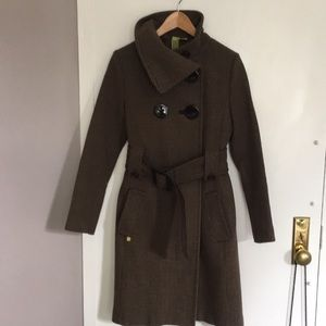 Stunning Soïa & Kyo belted wool coat - Barely worn